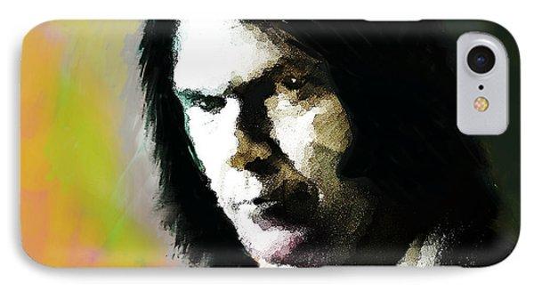 Neil Young Portrait  IPhone Case