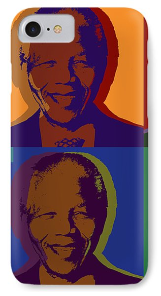 Nelson Mandela Pop Art IPhone Case