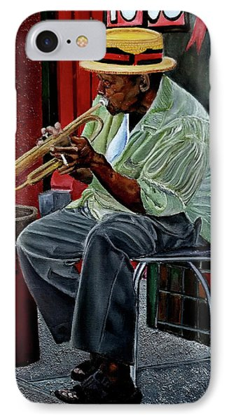 Bourbon Street Blues IPhone Case