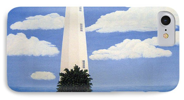 New Point Comfort Lighthouse 22x30 IPhone Case