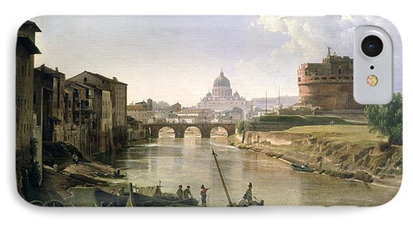 New Rome With The Castel Sant Angelo IPhone Case