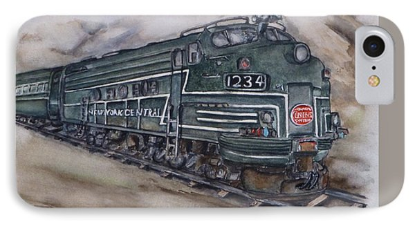 New York Central Train IPhone Case