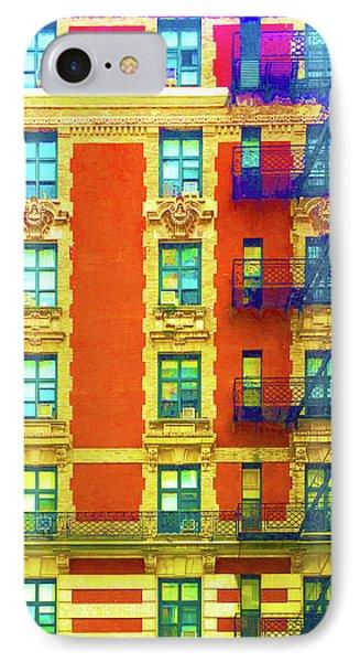 New York City Apartment Building 3 IPhone Case