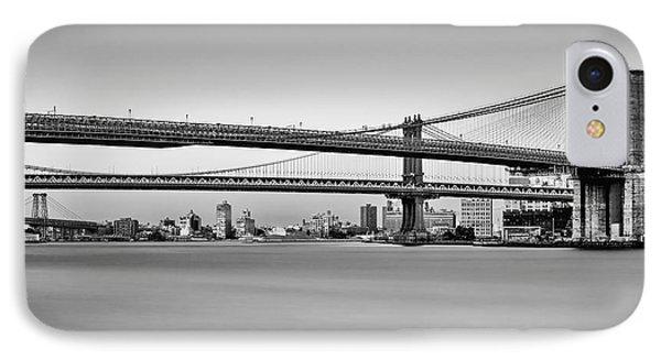 New York City Bridges Bmw Bw IPhone Case