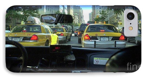 New York City Cab Ride IPhone Case
