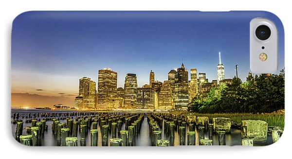 New York City From Brooklyn IPhone Case