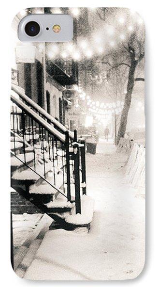 New York City - Snow IPhone Case