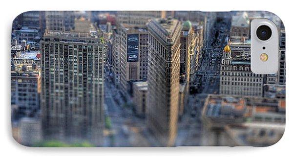 New York Toy Story - Flatiron Building IPhone Case