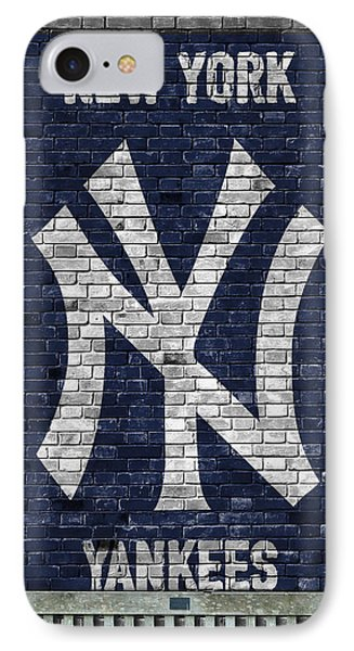 New York Yankees Brick Wall IPhone Case