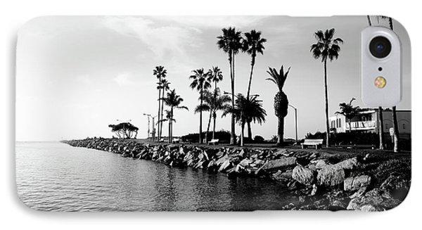 Newport Beach Jetty IPhone Case