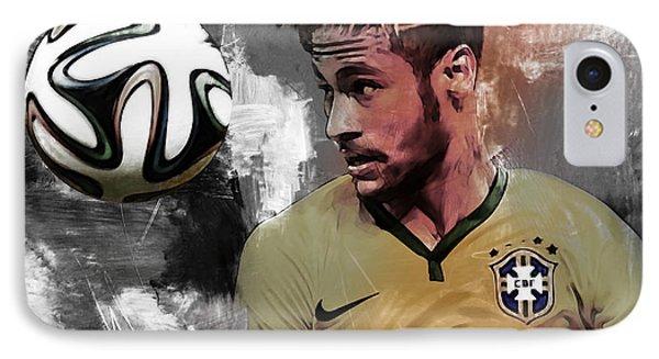 Neymar 051a IPhone Case