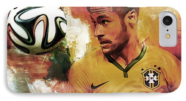 Neymar 05d IPhone Case
