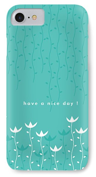 Print iPhone 8 Case - Nice Day by Kathleen Wong