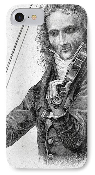 Violin iPhone 8 Case - Nicolo Paganini by Granger