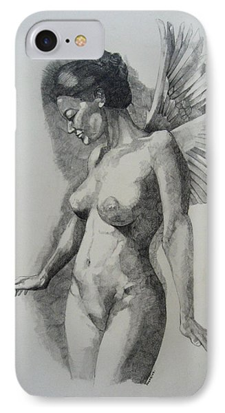 Night Angel IPhone Case