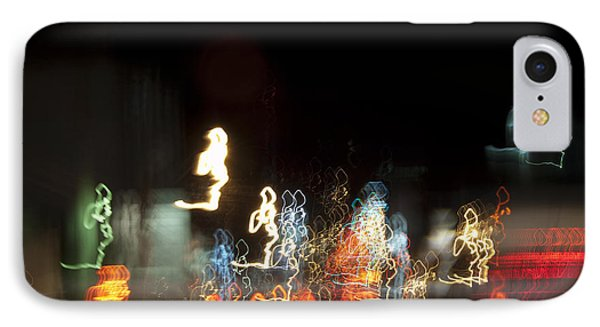 Night Forest - Light Spirits 1 Of 1 IPhone Case