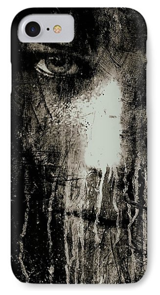 Nights Eyes Black And White IPhone Case