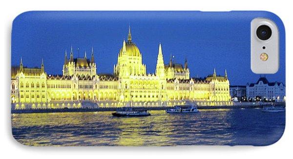 Nighttime Budapest IPhone Case