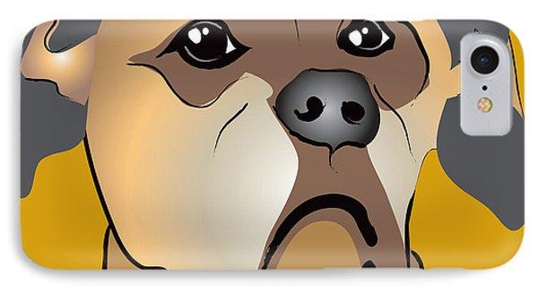 Niki Boxer Dog Portrait IPhone Case