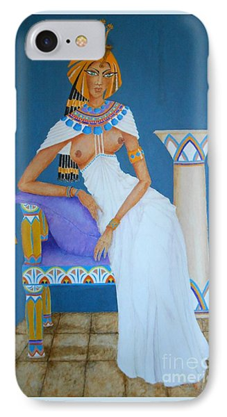 Nile Nymph -- Cleopatra, #1 In Famous Flirts Series IPhone Case