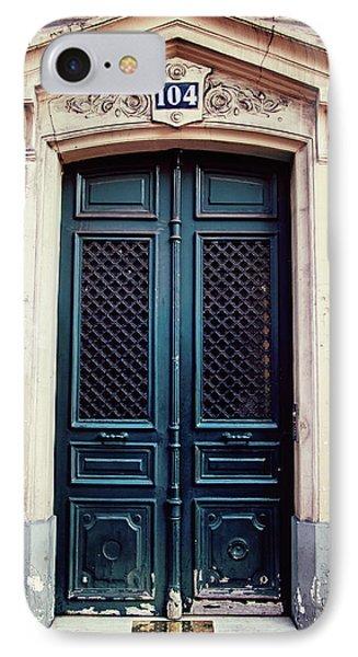 No. 104 - Paris Doors IPhone Case