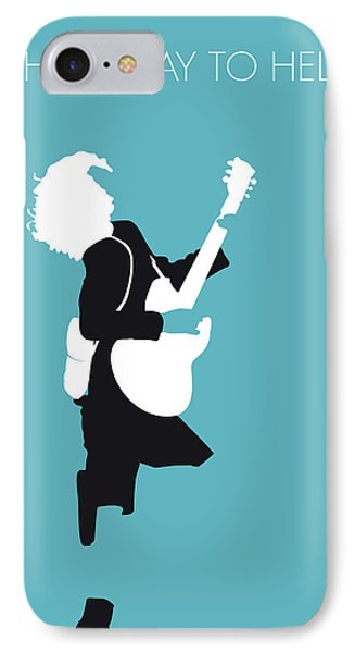 No065 My Acdc Minimal Music Poster IPhone Case