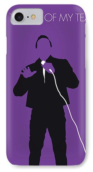 Rhythm And Blues iPhone 8 Case - No161 My Smokey Robinson Minimal Music Poster by Chungkong Art