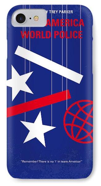 No475 My Team America Minimal Movie Poster IPhone Case