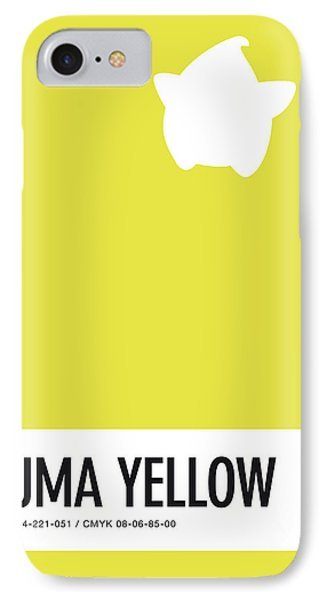 Daisy iPhone 8 Case - No40 My Minimal Color Code Poster Luma by Chungkong Art