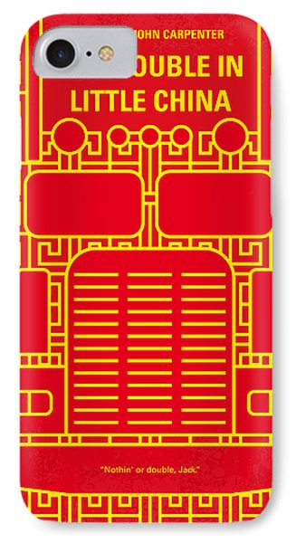 Truck iPhone 8 Case - No515 My Big Trouble In Little China Minimal Movie Poster by Chungkong Art