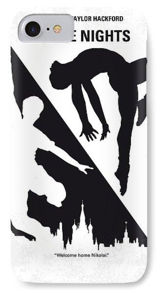 No554 My White Nights Minimal Movie Poster IPhone Case
