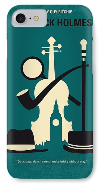No555 My Sherlock Holmes Minimal Movie Poster IPhone Case