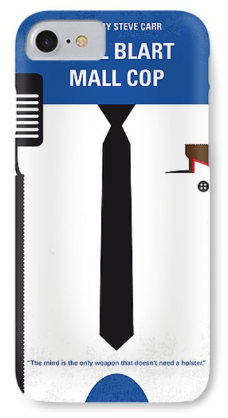 No579 My Paul Blart Mall Cop Minimal Movie Poster IPhone Case
