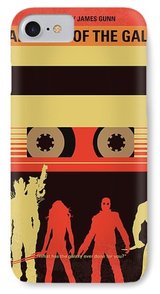 No812 My Guardians Of The Galaxy Minimal Movie Poster IPhone Case