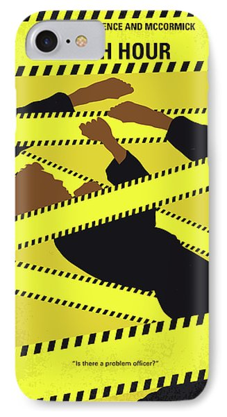 No816 My Rush Hour Minimal Movie Poster IPhone Case