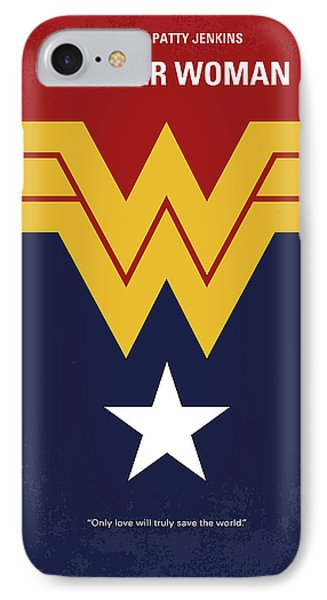No825 My Wonder Woman Minimal Movie Poster IPhone Case
