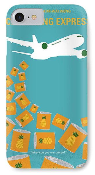 No835 My Chungking Express Minimal Movie Poster IPhone Case