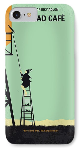 Magician iPhone 8 Case - No964 My Bagdad Cafe Minimal Movie Poster by Chungkong Art