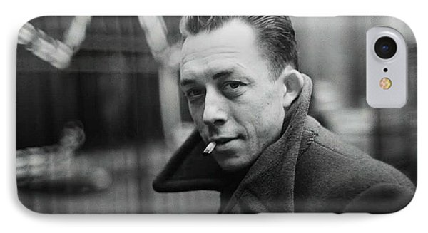 Nobel Prize Winning Writer Albert Camus  Unknown Date-2015           IPhone Case