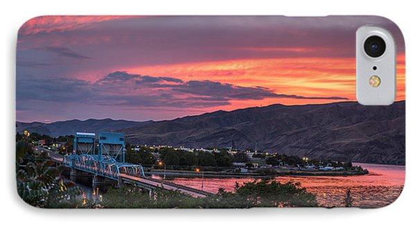 Normal Hill Sunset IPhone Case