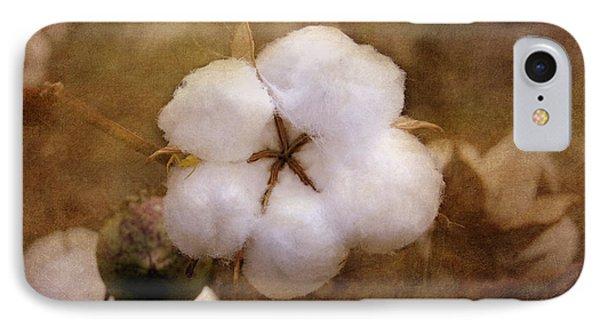 North Carolina Cotton Boll IPhone Case