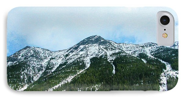 North Cascades Highway Spring View Landscape Photography By Omas IPhone Case