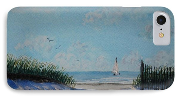 North Forest Beach IPhone Case