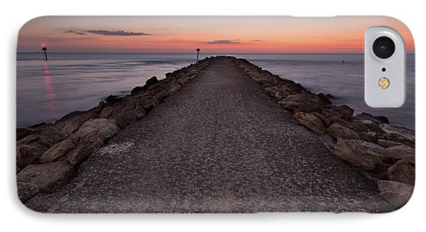 North Jetty IPhone Case
