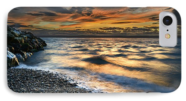 North Jetty Sunset IPhone Case