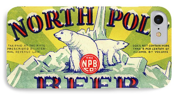 North Pole Beer IPhone Case