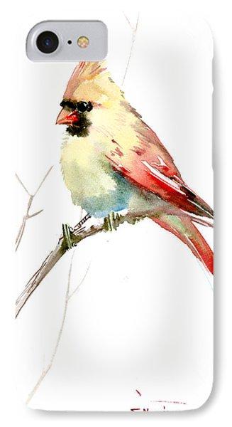 Northern Cardinal,female IPhone Case
