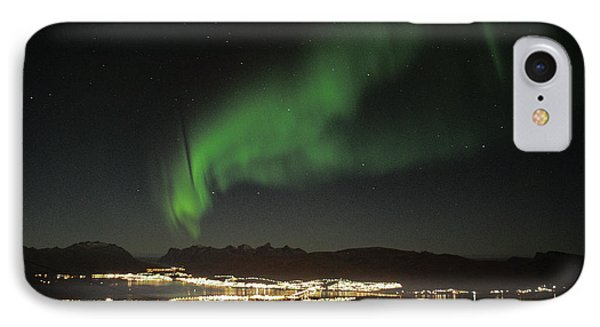 Northern Light In Troms, North Of Norway IPhone Case