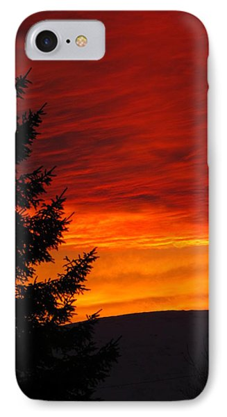 Northern Sunset 2 IPhone Case