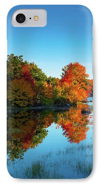 Northwood Lake Autumn IPhone Case